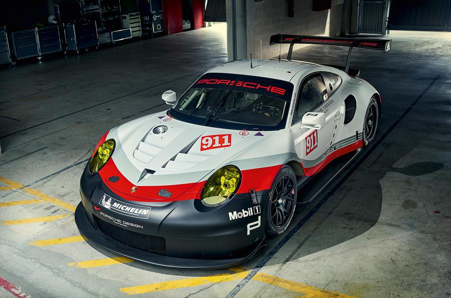 미드십 엔진의 포르쉐 911 RSR 레이스 버전 공개