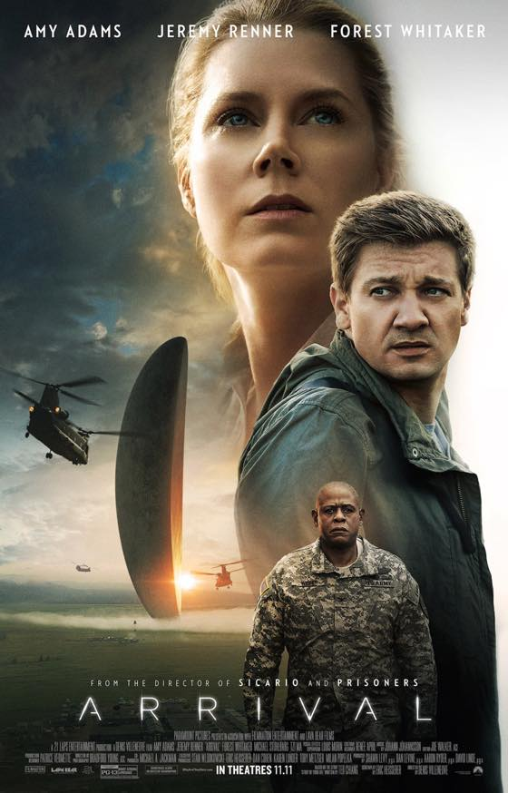 Arrival, 2016