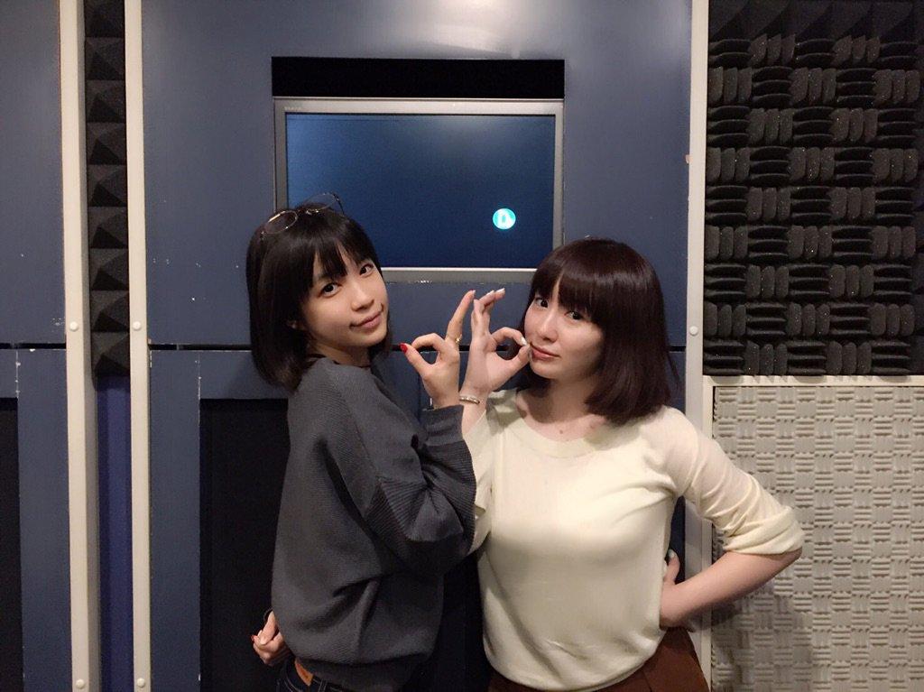 성우 스와 아야카 & 테루이 하루카의 사진이 훈훈해..