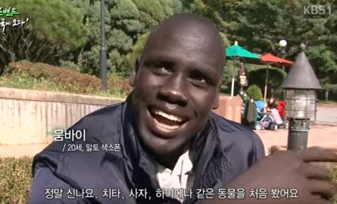 아프리카 사람이 한국 와서 본 것