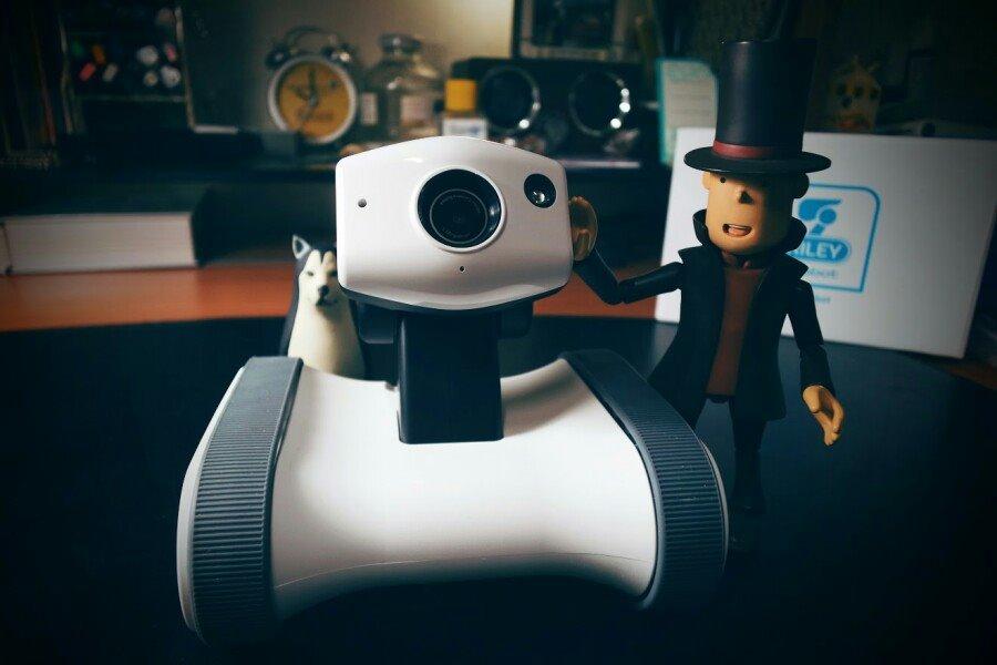 앱봇 라일리, 꽤 재미있는 감시 카메라 로봇