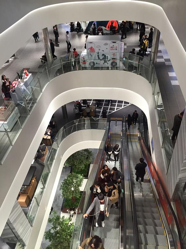 신세계백화점 대구점 첫 방문기 (3) - 8층과 9층의 샵들