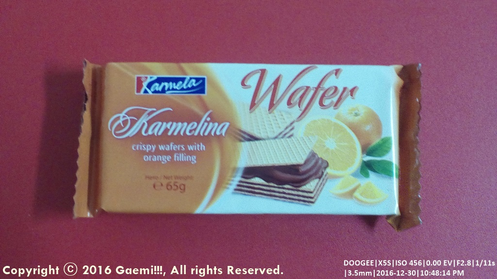 [Karmela] Karmelina Orange Wafer