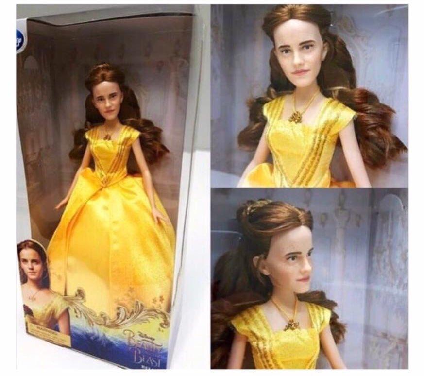 영화 '미녀와 야수'의 캐릭터 피규어 사진이 다소 ..