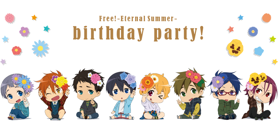 Free! -Eternal Summer- birthday party! 2015-201..
