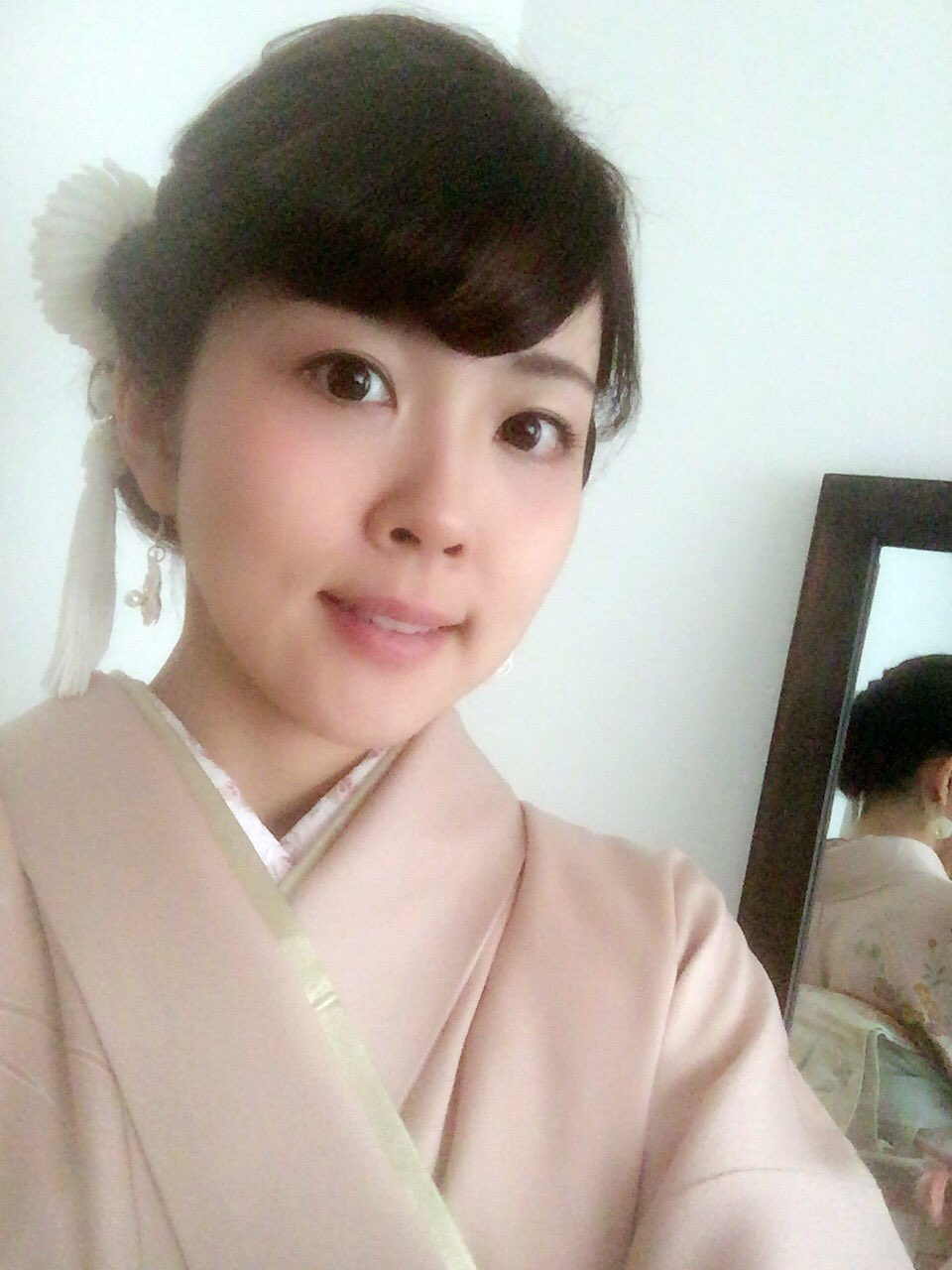 성우 후쿠엔 미사토씨가 트위터에 올린 기모노 차림 사진