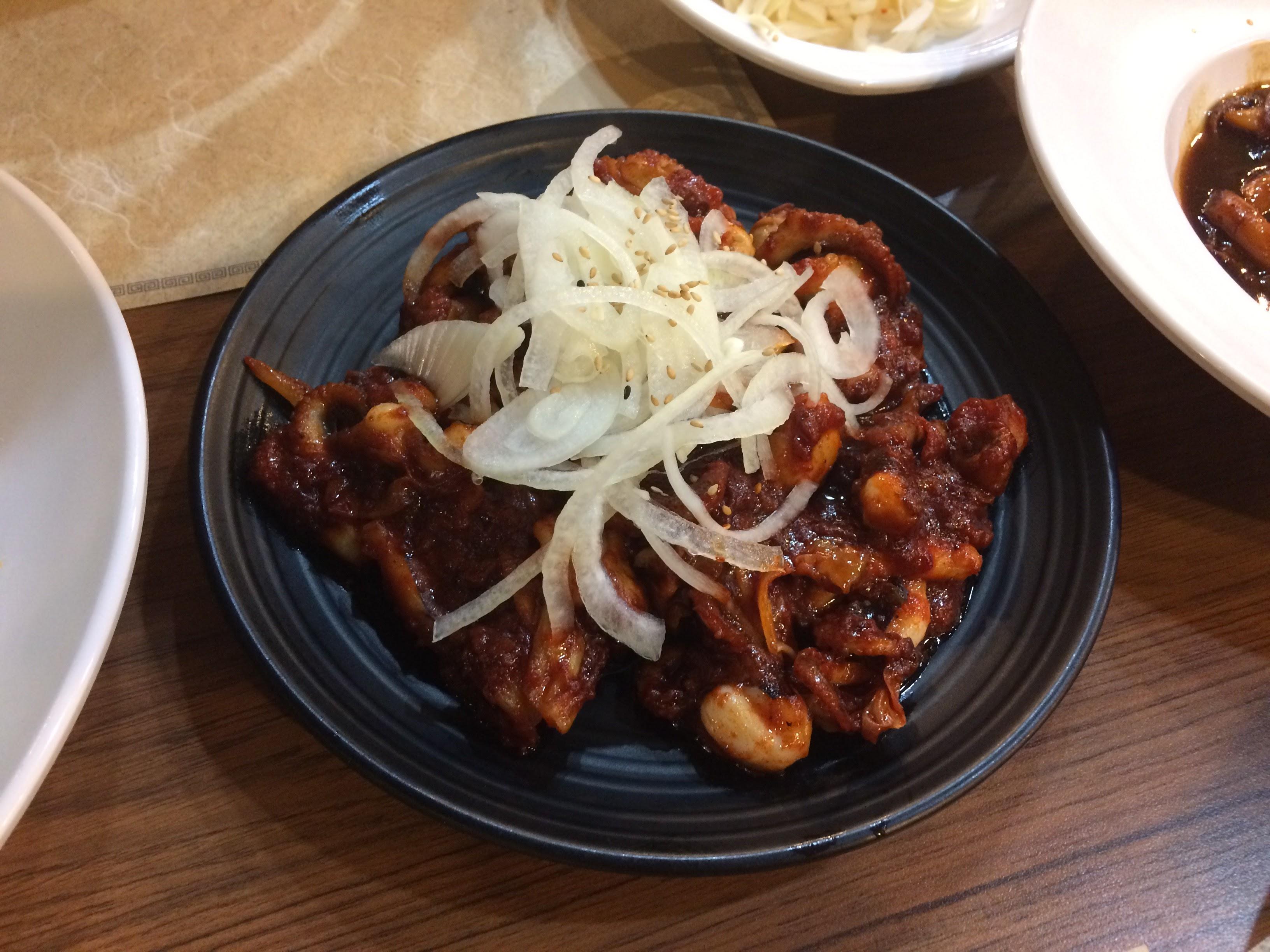 불맛 나는 쭈꾸미를 먹어보자, 용인 신봉동 <온반>