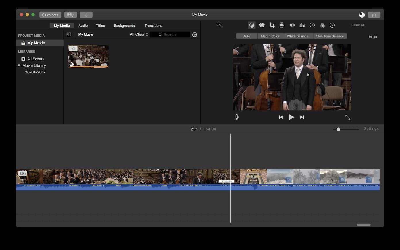 윈도우 미디어 센터에서 녹화한 영상을 iMovie에서..