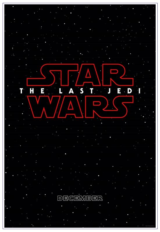 '스타 워즈' 최신작 제목은 'THE LAST JEDI' - 일본..