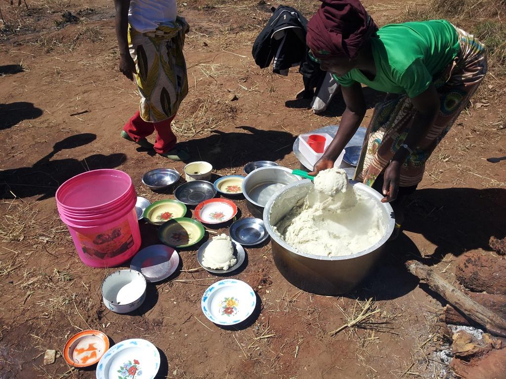 [모잠비크] 우갈리로 점심 해결하기