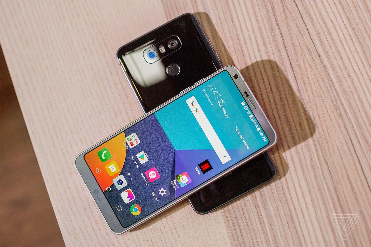 LG 플래그쉽 스마트폰 G6 발표