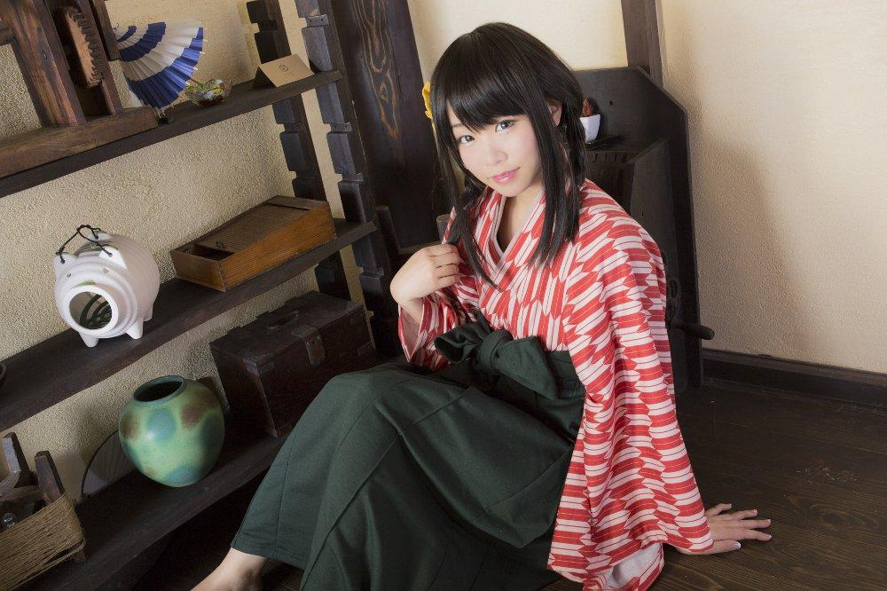 일본 다이쇼 시대의 이미지를 바탕으로 하는 하카마..