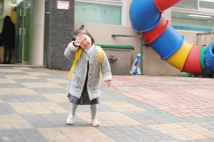 두두, 유치원 입학식을 축하해 (동영상)