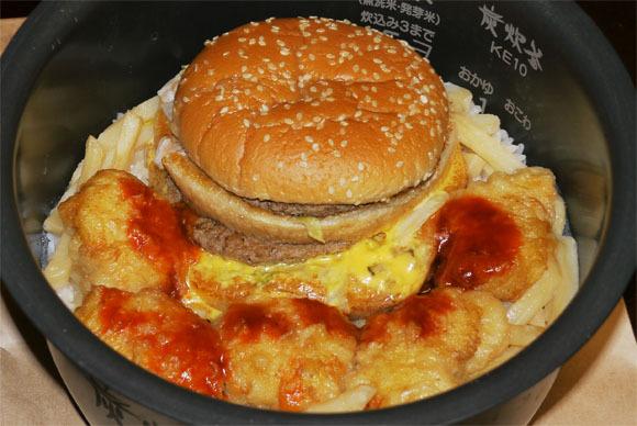 햄버거「융합하자!」 감튀「오오!」 너겟「나..