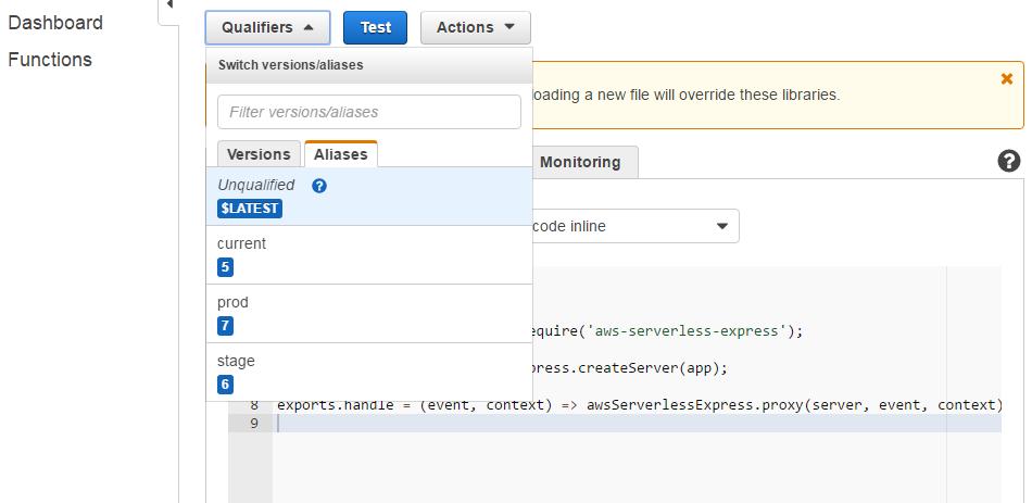 aws lambda, api gateway를 이용한 웹 서버 ..