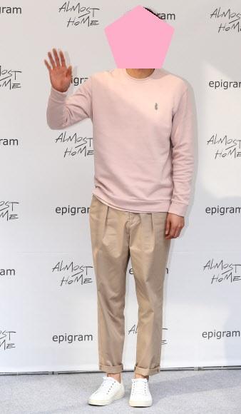 남자연예인 포토월 패션을 찾아봄