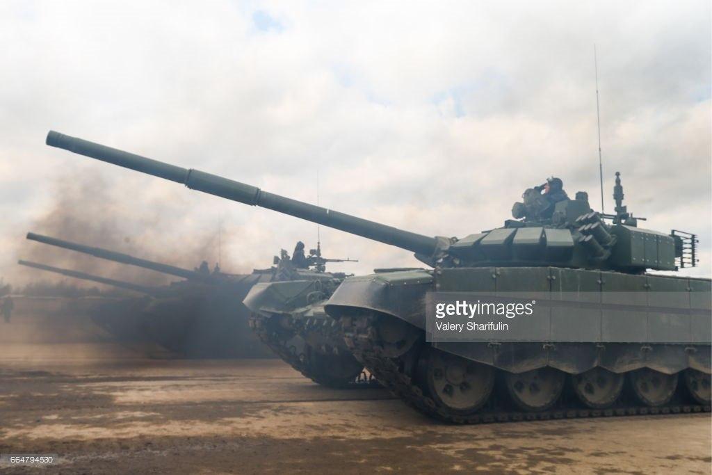T-72B3 2016 등장
