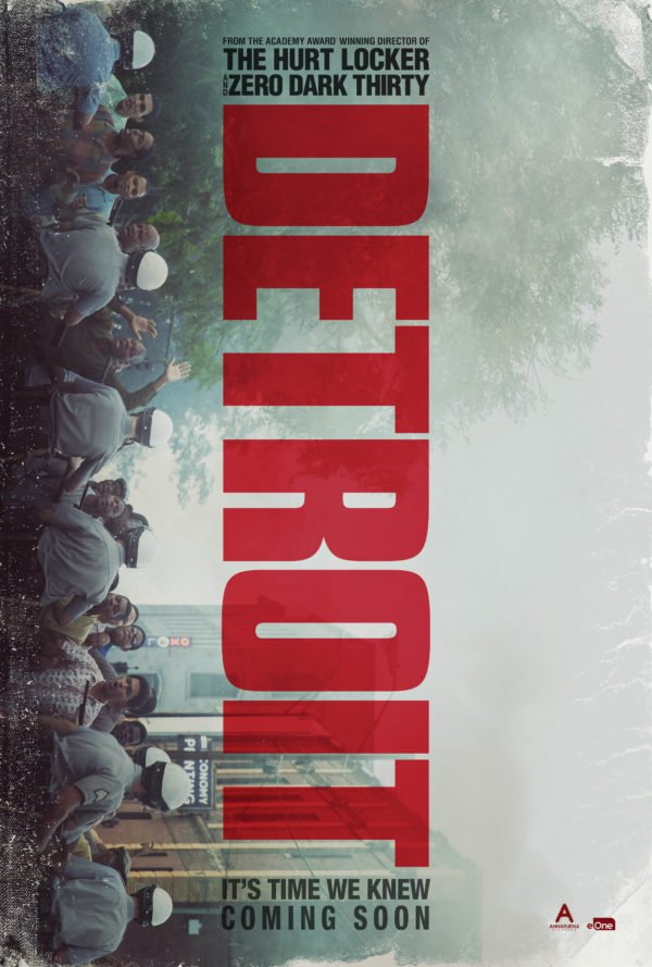 """캐서린 비글로우의 신작, """"Detroit"""" 입니다."""