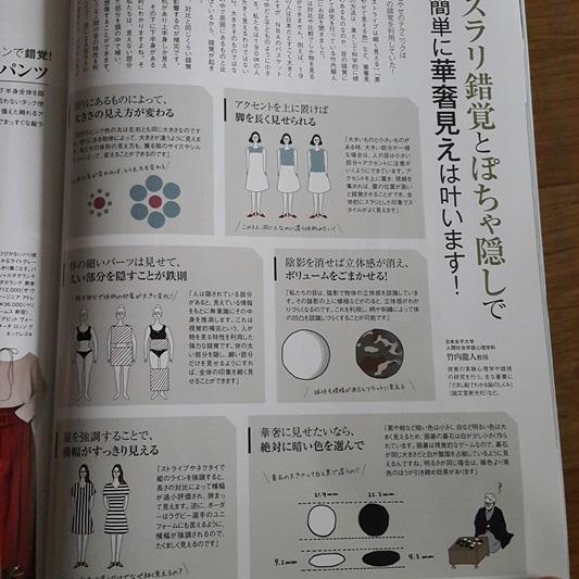 일본 30대패션잡지의 날씬하게 보이는 입는 법 잠담
