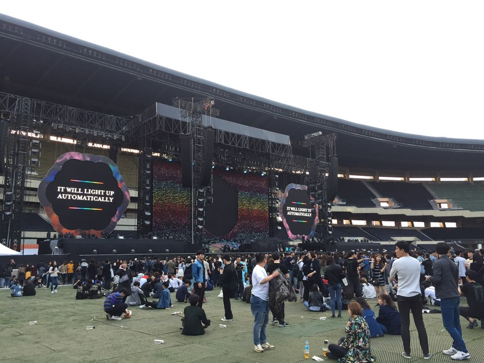 #ColdplaySeoul