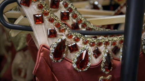 조지 발란신 jewels의 'rubies'