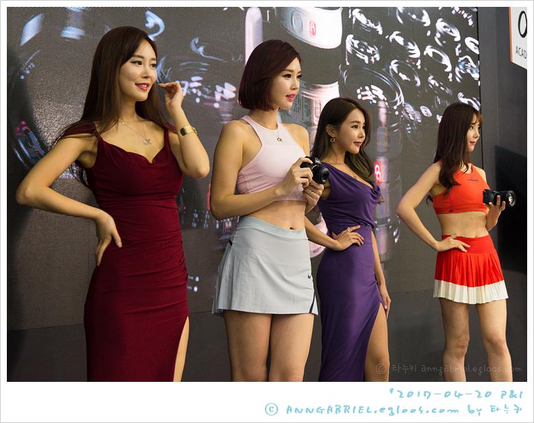 [P&I 2017] 모델 고우리 & 김지나, 소니