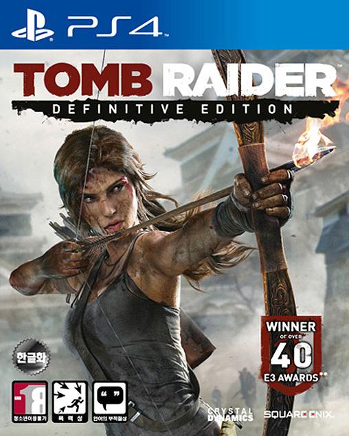 PS4 - 툼 레이더 리부트 클리어