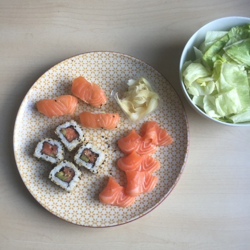 생리 시작한 날의 식단