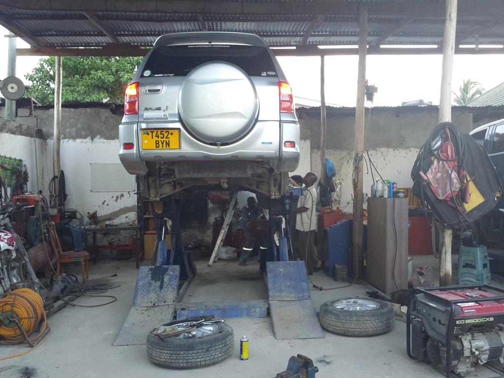[탄자니아] AUTOPARK 차량 정비소