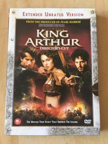 """""""킹 아더"""" DVD를 샀습니다."""