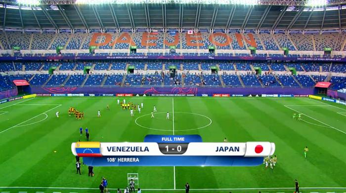 U20 월드컵 축구, 일본 16강 탈락