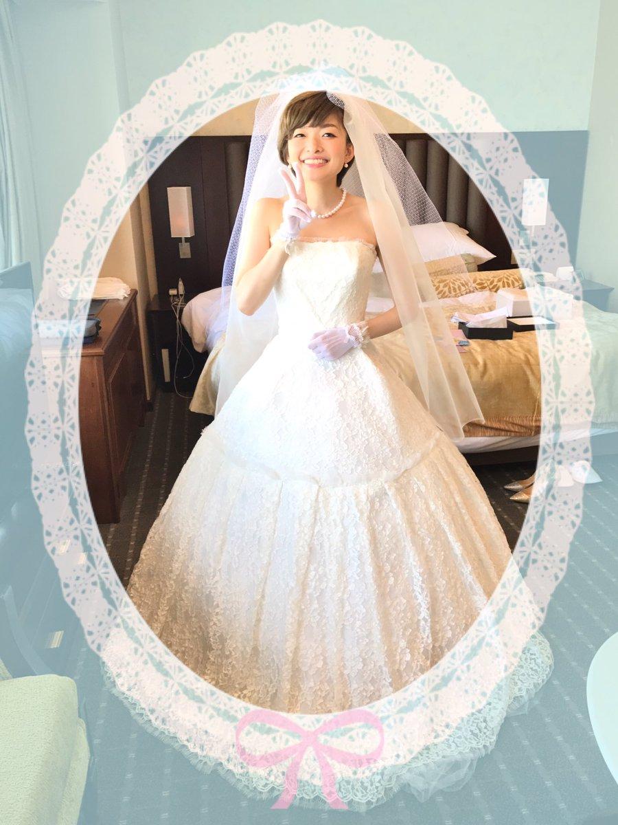 요시다 히토미씨, 2017년 5월 29일에 결혼식을 올렸답..