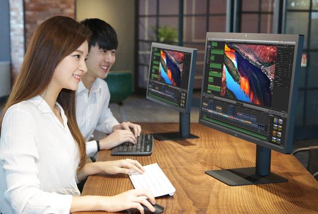 LG전자의 5K 모니터 국내 판매 시작