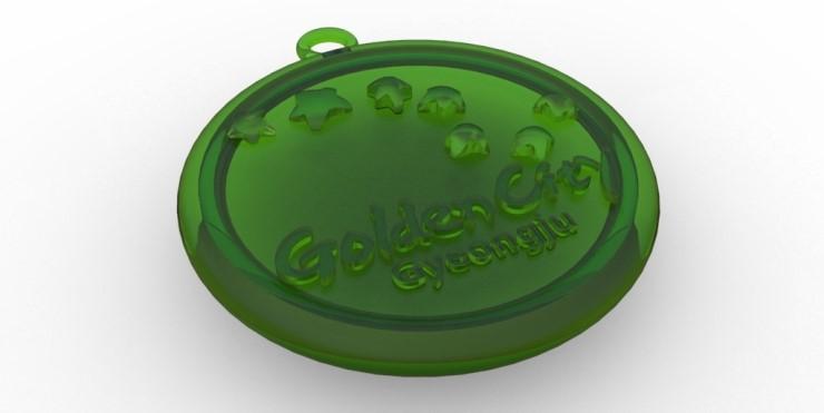 (3D모델링) 경주시 기념메달 모델링 및 렌더링