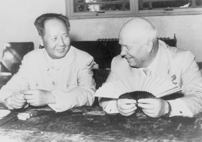 [핵전쟁]흐루쇼프와 모택동의 대화...