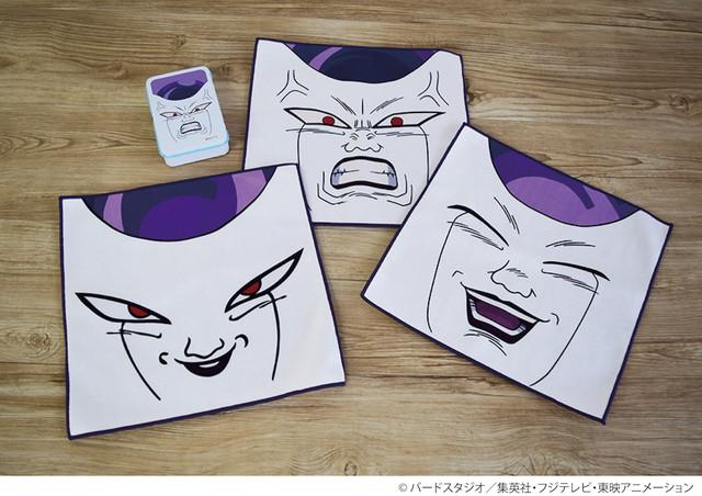 프리저의 얼굴을 모티브로 하는 캐릭터 상품 판매 소식