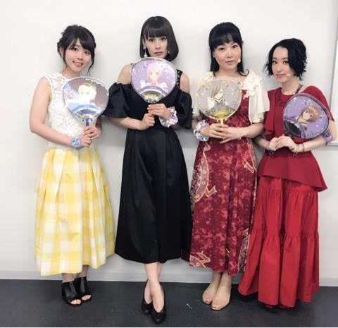 성우 유카나씨의 오피셜 블로그에 올라온 사진 가운데