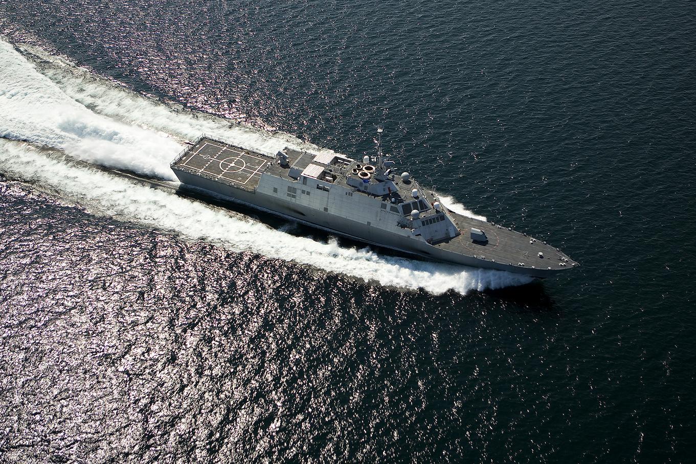 미 해군의 새로운 프리깃 계획
