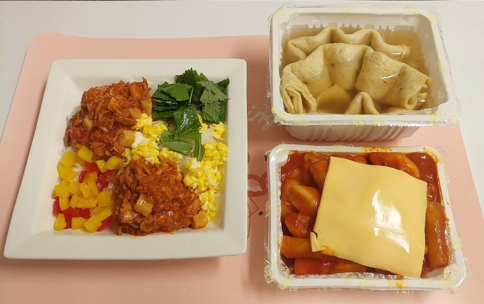 혼자밥 고추참치비빔밥, 분식