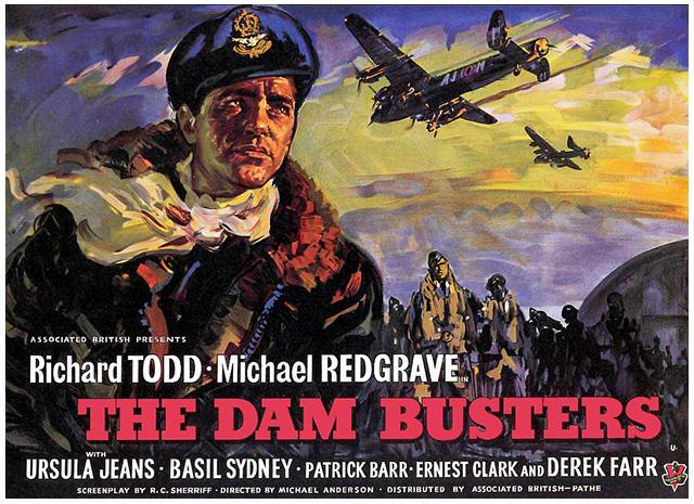 댐 버스터 (The Dam Busters, 1955)