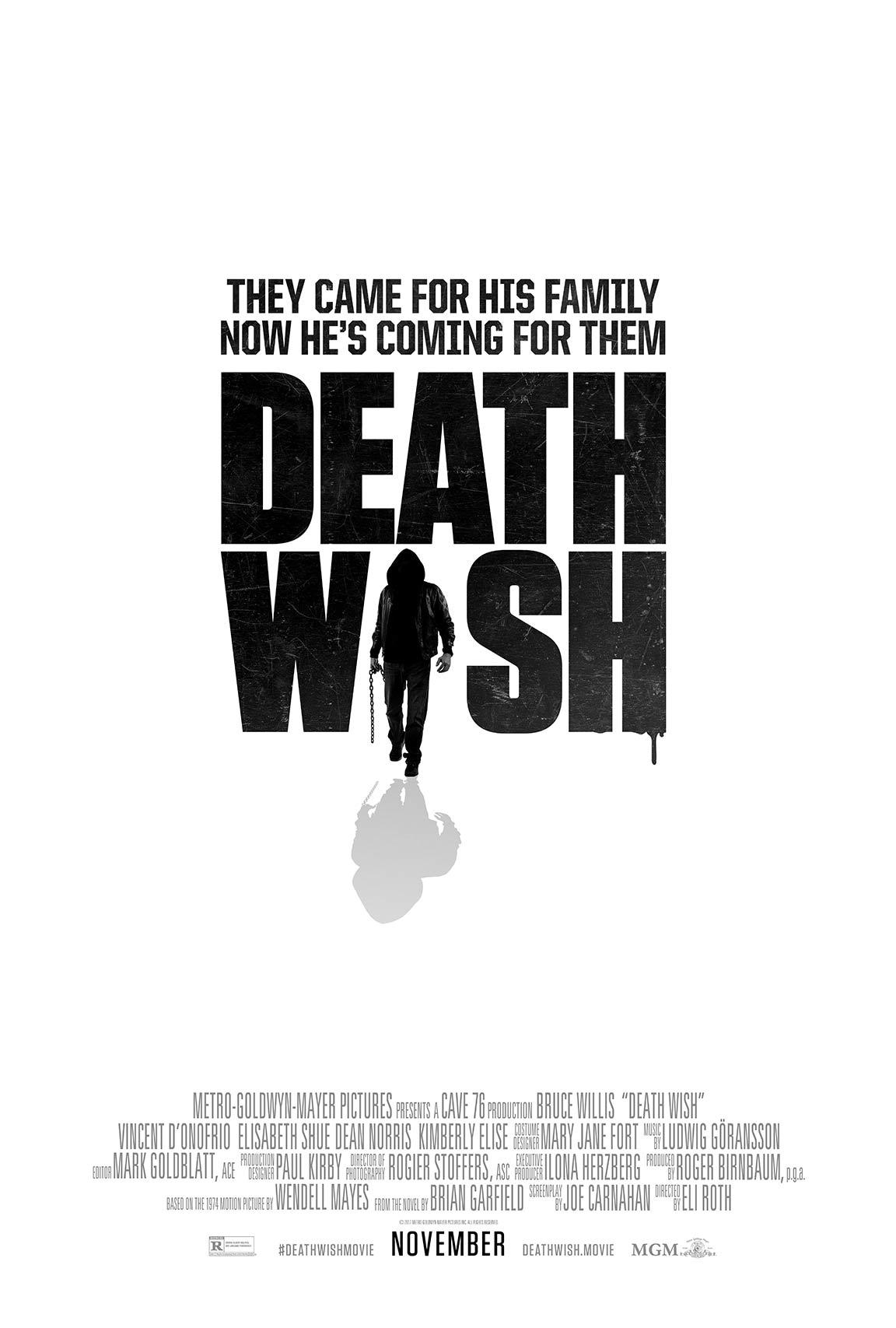 """""""Death Wish"""" 라는 작품입니다."""