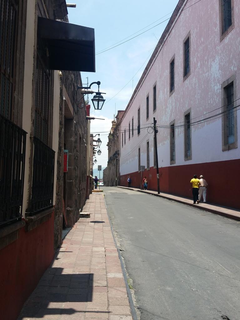 [멕시코] 모렐리아 시내 이곳 저곳