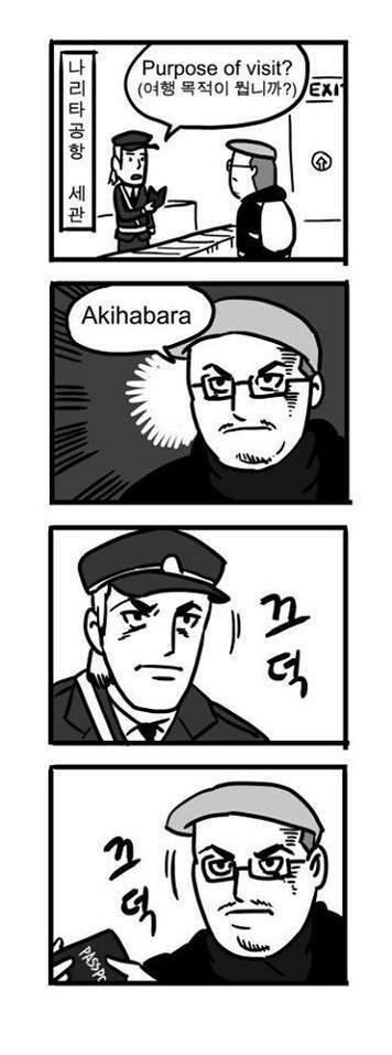 in akihabara, 동생과 어제 오늘 보고 먹은 것
