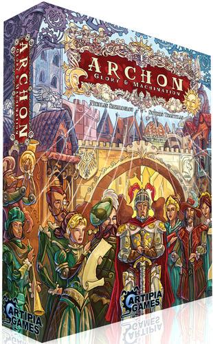 아르콘: 영광과 음모 (Archon, 2013) 한글 규칙서 v..