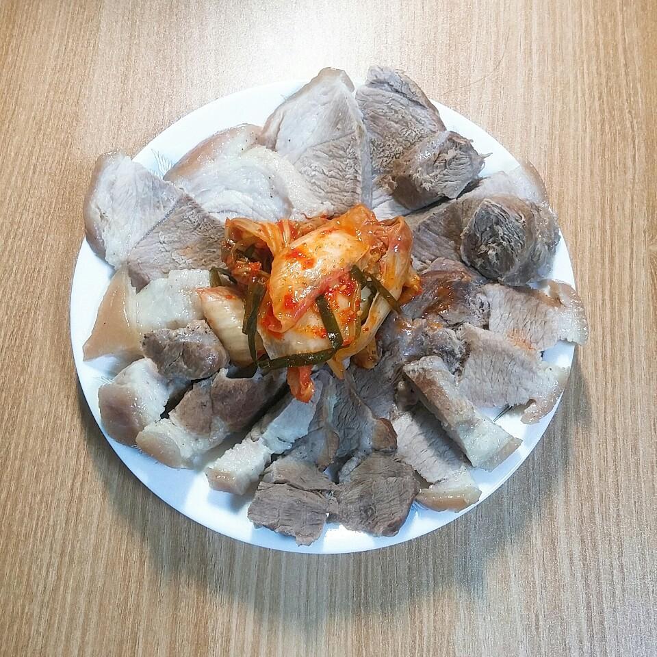 자취 요리 (수육)