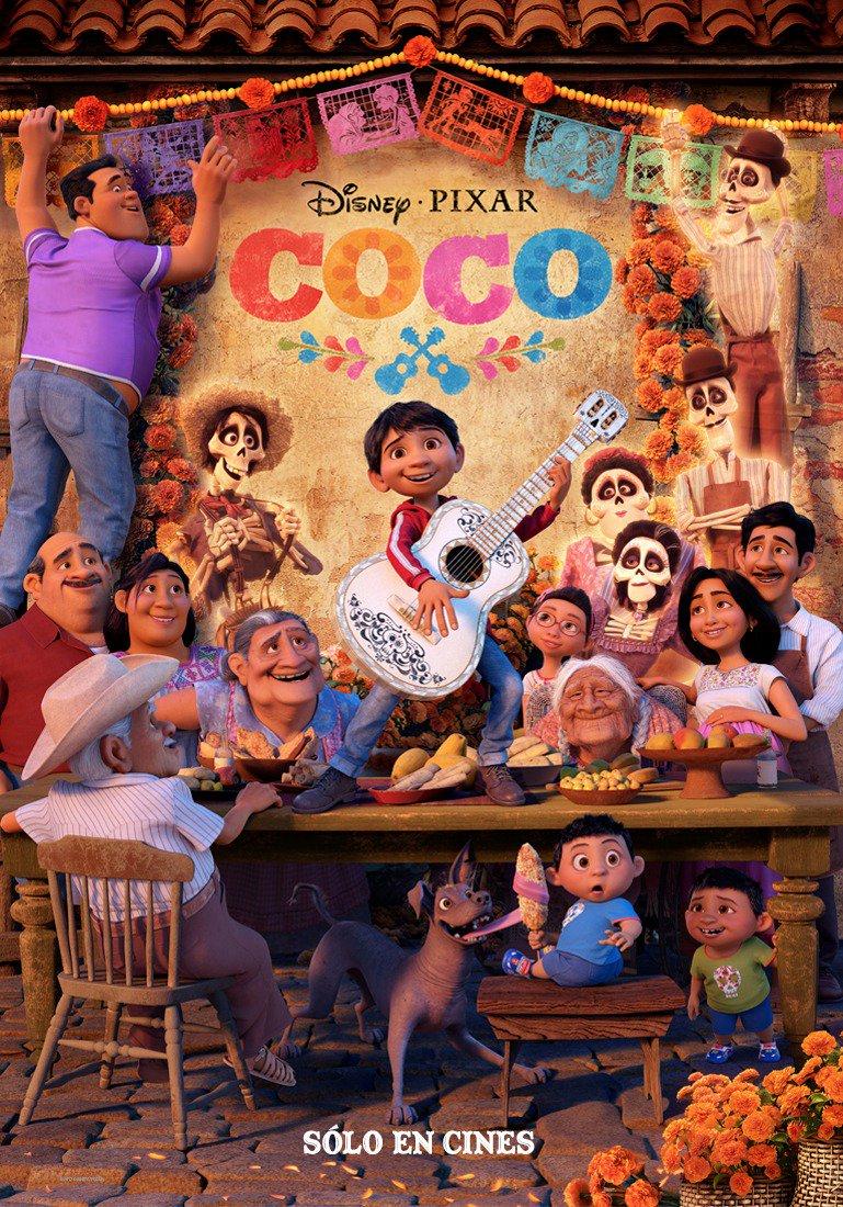 """""""Coco"""" 새 포스터와 예고편입니다."""