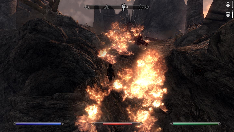 스카이림 - 폭발마