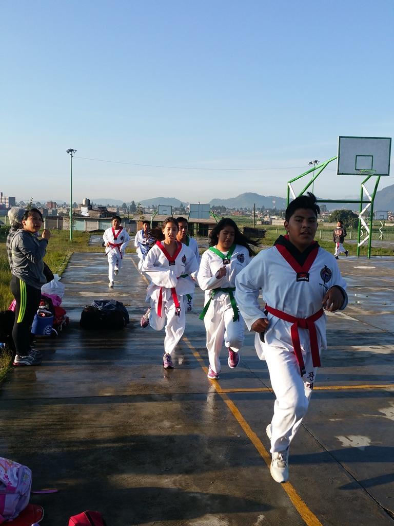 [멕시코] 야외 운동