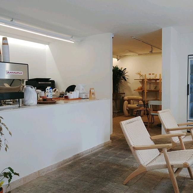 감각적인 공간, 한남동 로우커피(LOW COFFEE H..
