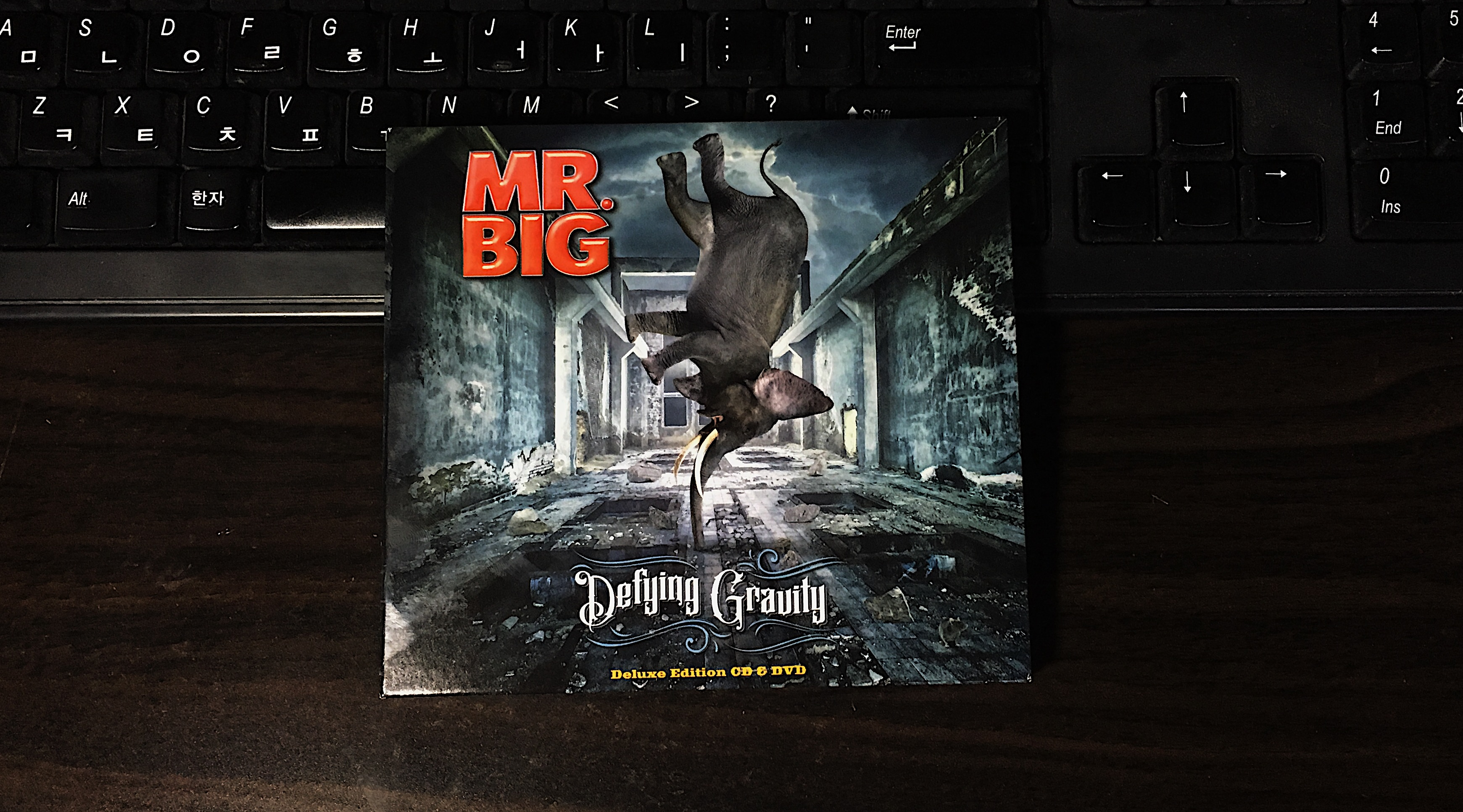 Defying Gravity - Mr. Big / 2017